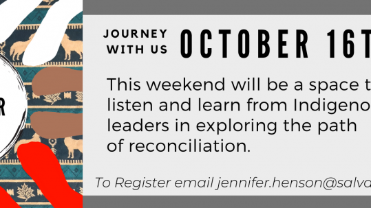 Coming Together Weekend Website Banner